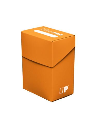 Portamazo Ultra Pro: Pumpkin Orange Deck Box