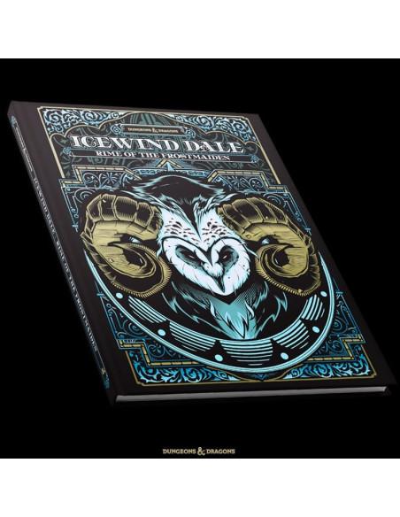 Libro de rol Icewind Dale Portada alternativa  Magicsur Chile