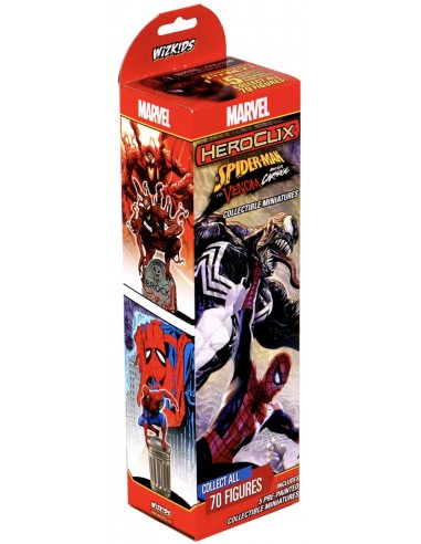 Heroclix Spiderman y Venom en Chile