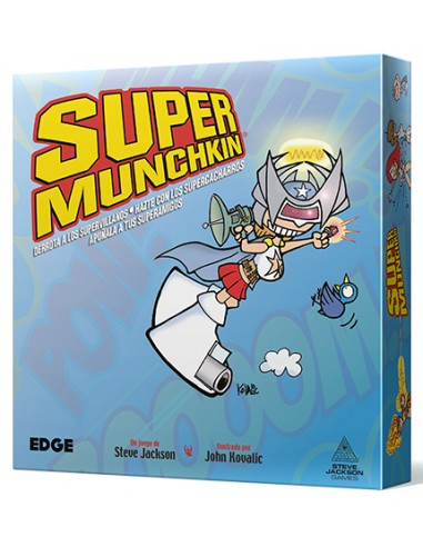 Super Munchkin Nueva Edición - Caja - Magicsur Chile
