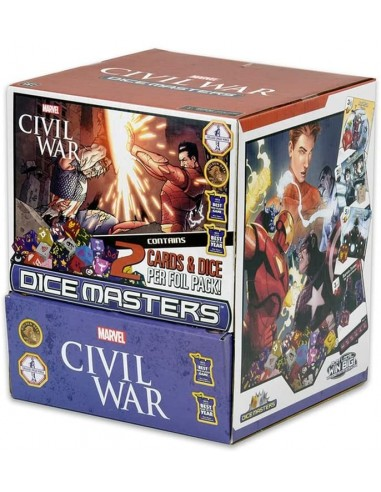Marvel Dice Masters Civil War - Gravity Feed Pack