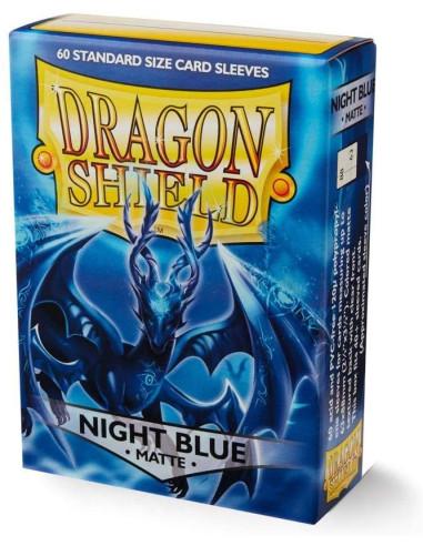 Protectores Dragon Shield Matte Night Blue (60) - Sleeves en Magicsur Chile para Magic The Gathering