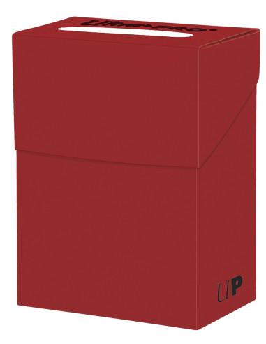 Portamazo Ultra Pro: Solid Red Deck Box