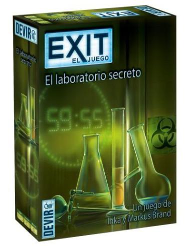 Exit: El Laboratorio Secreto - Caja - Magicsur