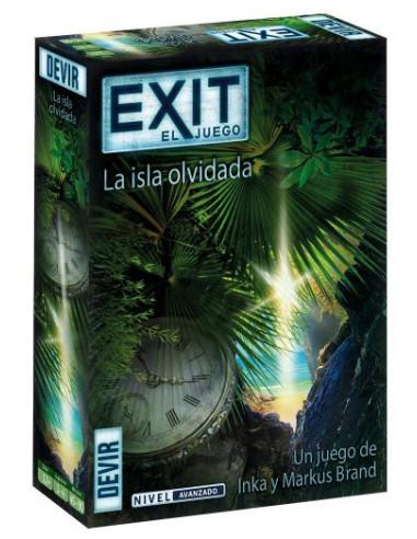 Exit: La Isla Olvidada - caja - Magicsur