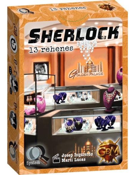 Sherlock: 13 Rehenes - Juego de Mesa - Magicsur