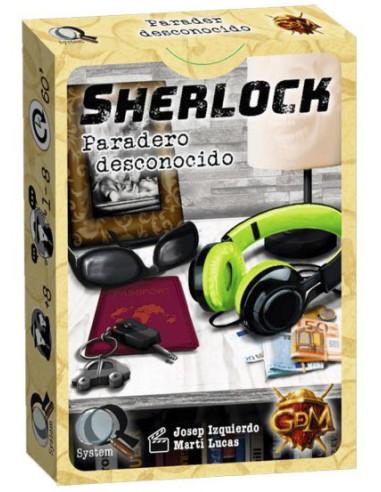 Sherlock: Paradero Desconocido - Juego de Mesa - Magicsur