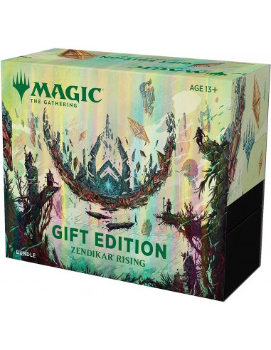 MTG Zendikar Rising Bundle Gift Edition - regalo de Navidad de Magic