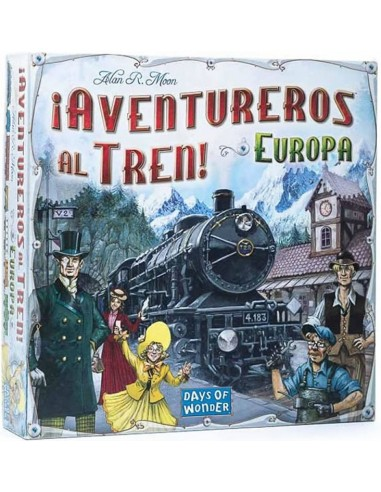 ¡Aventureros al Tren!: Europa - Caja - Magicsur Chile