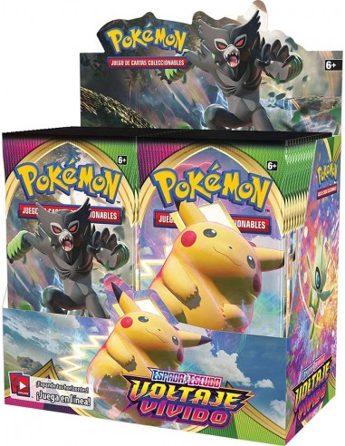 Pokémon TCG: Voltaje Vivido Booster...