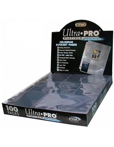 Hojas Ultra Pro: Platinum Series -...