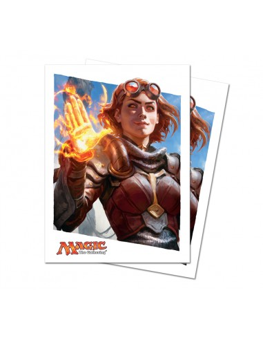 Protectores Magic Oath of the Gatewatch Chandra (80)