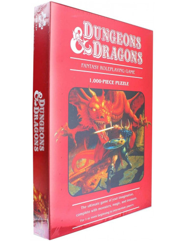 Dungeons & Dragons 1000-Piece Puzzle...