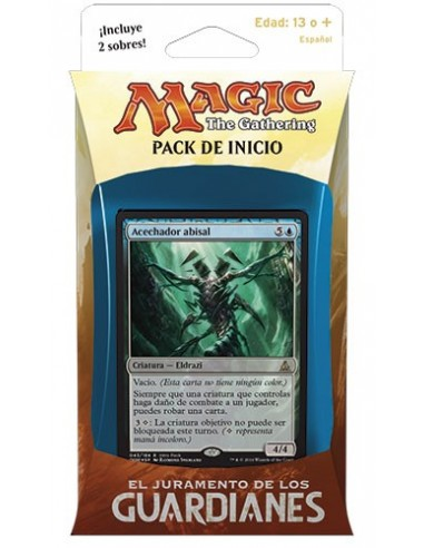 Oath of the Gatewatch Intro Pack Blue - Twisted Reality - Mazo Magic the Gathering