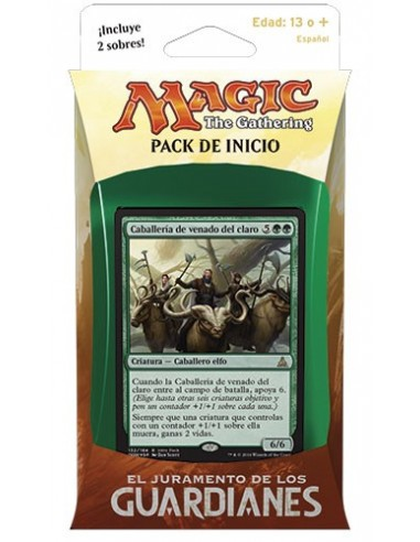 Oath of the Gatewatch Intro Pack Green - Concerted Effort - Mazo Magic the Gathering