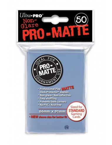 PRO-Matte Protectores Estándar Incoloro (50)
