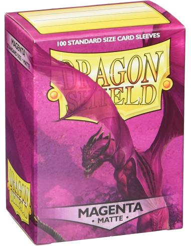 Protectores Dragon Shield Matte - Magenta en Magicsur Chile