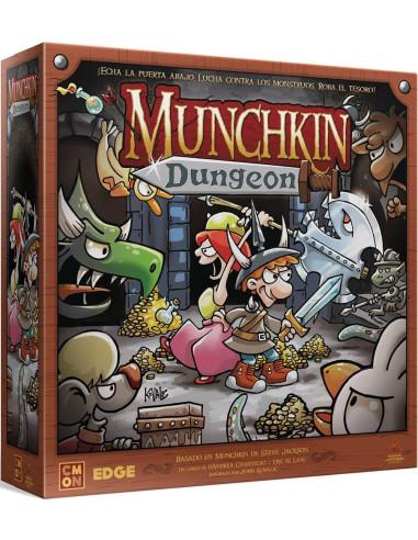 Munchkin Dungeon - caja de juego de mesa - Magicsur Chile