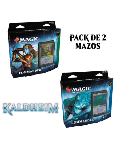 MTG Commander Deck: Pack de 2 Mazos -...