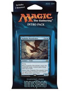 Intro Pack Blue Sombras sobre Innistrad - Unearthed Secrets - Mazo Magic the Gathering