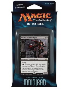 Shadows over Innistrad Intro Pack Black - Vampiric Thirst - Mazo Magic the Gathering