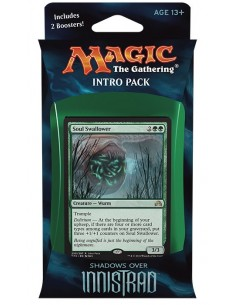 Intro Pack Green Shadows over Innistrad - Horrific Visions - Mazo Magic the Gathering