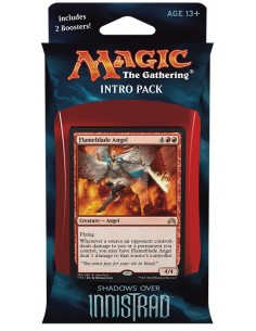 Intro Pack Red Shadows over Innistrad - Angelic Fury - Mazo Magic the Gathering