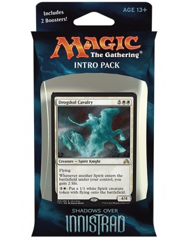 Shadows over Innistrad Intro Pack White - Ghostly Tide - Mazo Magic the Gathering