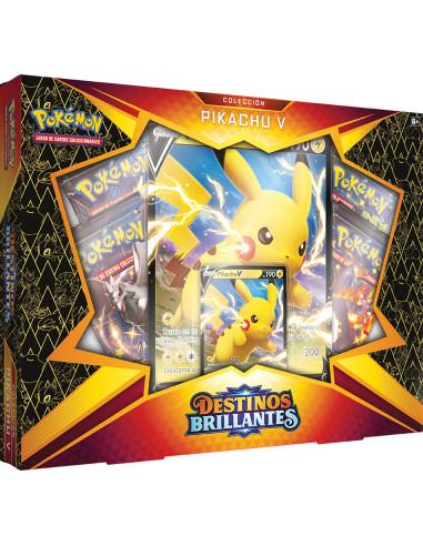 Colección de Pikachu V de Destinos...