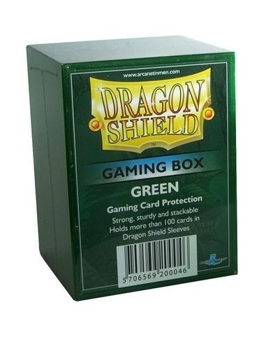 Dragon Shield Gaming Box - Verde