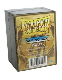 Dragon Shield Gaming Box - Dorado