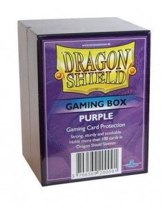Dragon Shield Gaming Box - Purpura