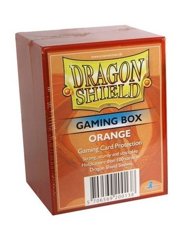 Dragon Shield Gaming Box - Naranja