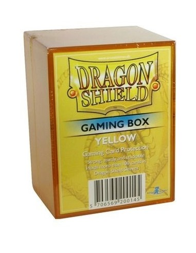 Dragon Shield Gaming Box - Amarillo