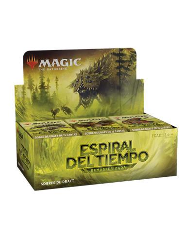 Caja de sobres de Espiral del Tiempo Remasterizada en Magicsur Chile