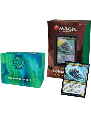 MTG Commander Deck: Strixhaven - Quantum Quandrix - Mazo Commander Verde Azul (Inglés) en Magicsur Chile