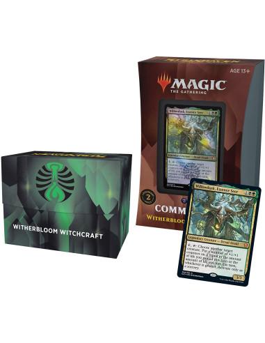 MTG Commander Deck: Strixhaven - Witherbloom Witchcraft - Mazo Commander Negro Verde (Inglés) en Magicsur Chile
