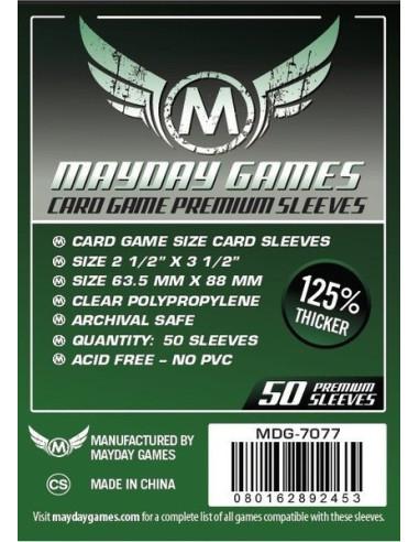 Protectores para Cartas de Juegos de Mesa (63.5x88mm)