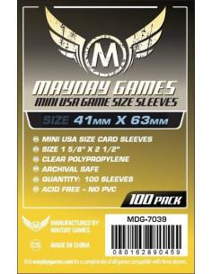 Protectores para Cartas de Juegos de Mesa (Mini USA)