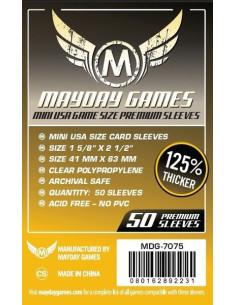 Protectores Premium para Cartas de Juegos de Mesa (Mini USA)