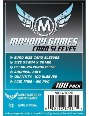 Protectores para Cartas de Juegos de Mesa (Euro)