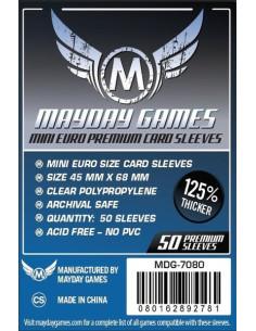Protectores Premium para Cartas de Juegos de Mesa (Mini Euro)
