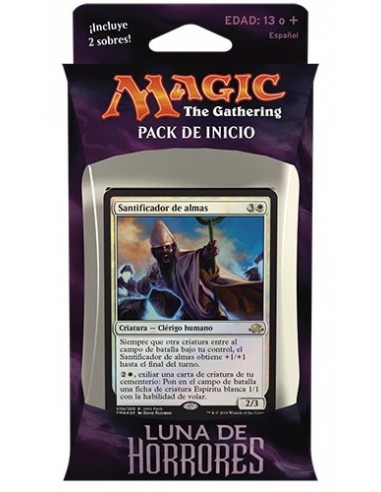 Intro Pack White Eldritch Moon - Unlikely Alliances - Mazo Magic the Gathering