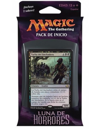 Intro Pack Black Eldritch Moon - Shallow Graves - Mazo Magic the Gathering
