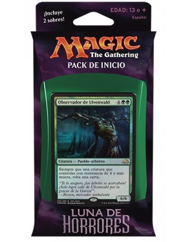 Intro Pack Green Eldritch Moon - Weapons and Wards - Mazo Magic the Gathering