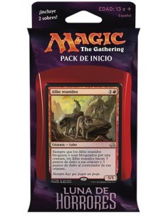 Intro Pack Red Eldritch Moon - Untamed Wild - Mazo Magic the Gathering