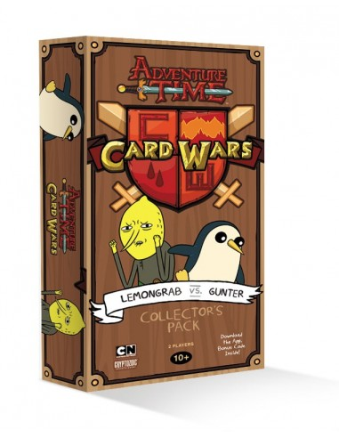 Mazo de Colección Lemon Grab vs Gunter - Adventure Time: Card Wars (Juego de cartas)