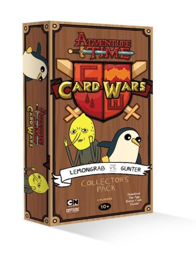 Mazo de Colección Lemon Grab vs Gunter - Adventure Time: Card Wars (Juego de cartas)