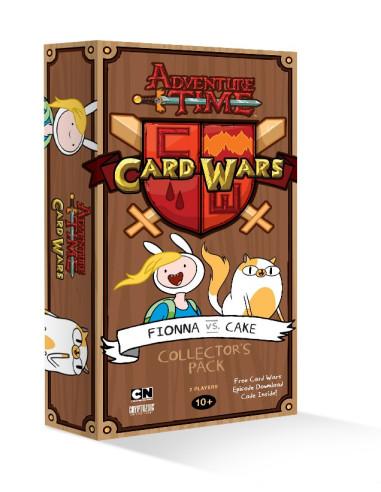 Mazo de Colección Fionna vs Cake - Adventure Time: Card Wars (Juego de cartas)