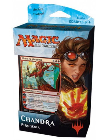 Planeswalker Deck Chandra Pyrogenius - Kaladesh Mazo Magic the Gathering